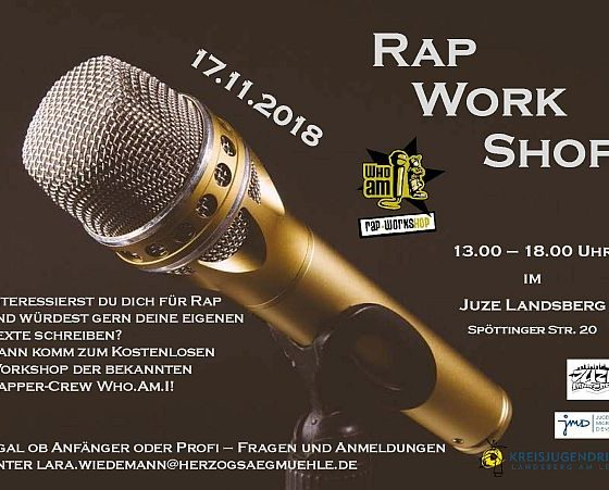 Flyer Rapworkshop