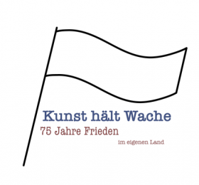 Kunst hält Wache - Friedensfahnenprojekt