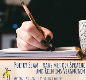 Poetry Slam - Raus mit der Sprache und rein ins Vergnügen