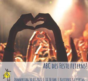 """Juleica-Fortbildung """"ABC des Feste feierns!"""""""